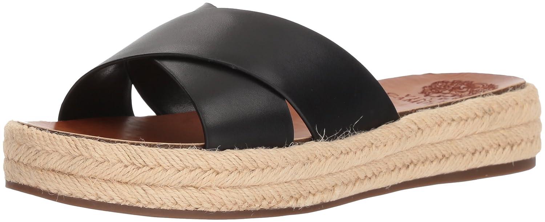 Vince Camuto Women's Carran Slide Sandal B075FQVSQZ 8 B(M) US|Black
