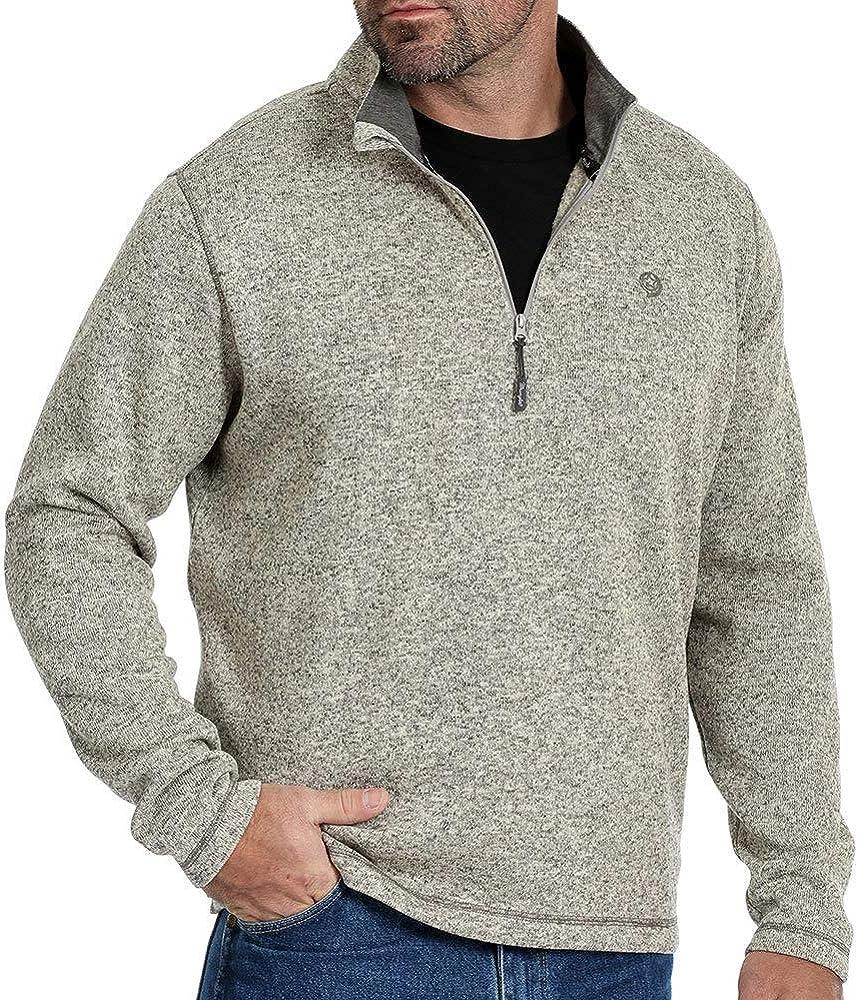Wrangler Mens Crewneck Knit Sweatshirt