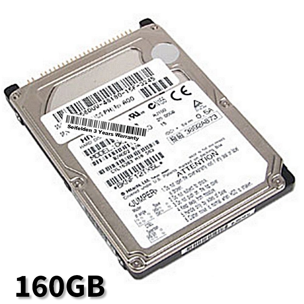 Seifelden 160GB Hard Drive for Acer TravelMate 252EX 252LC 252LCE 252LME 252LMi 252LMiE 252PEXCi 252PXCi 252XC 254ELCi 254LCE 254LMiE 2600 270 2700 270XV 272LC 272 X 272XC (Certified Refurbished)