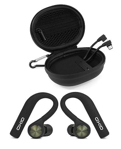 OXID AudioBuds - Auriculares inalámbricos Bluetooth con funda de carga y protección – 4,5