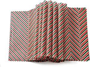 Christmas wax paper sheets Wrapping Tissue Food Picnic Paper for Food Basket Liner
