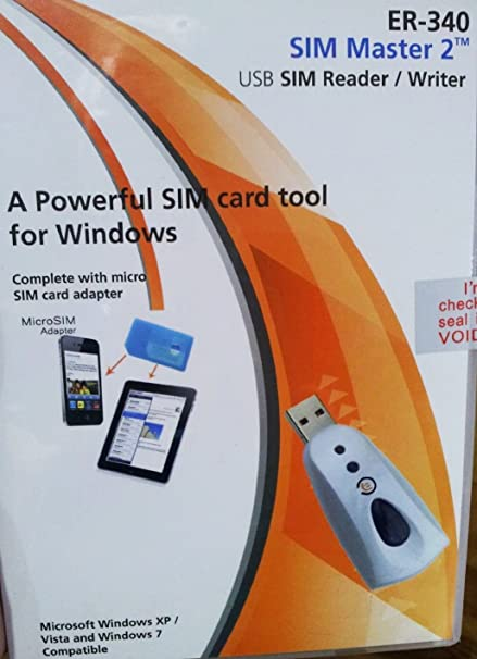 SIM Master - Lector de tarjeta SIM para tarjetas/Mico SIM ...