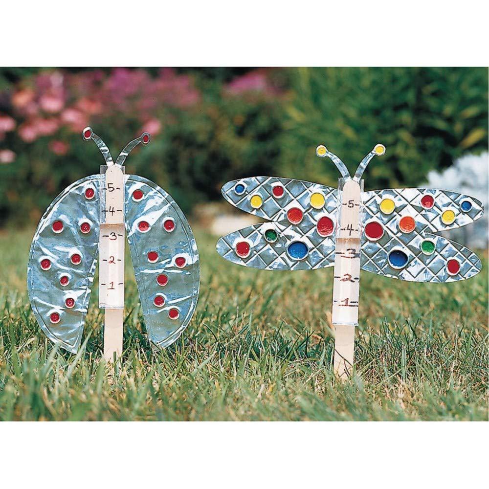 Garden Rain Gauge Craft Kit (Pack of 36) by S&S Worldwide