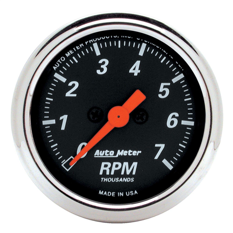 Auto Meter 1477 Designer Black Dash Electric Tachometer by Auto Meter (Image #1)