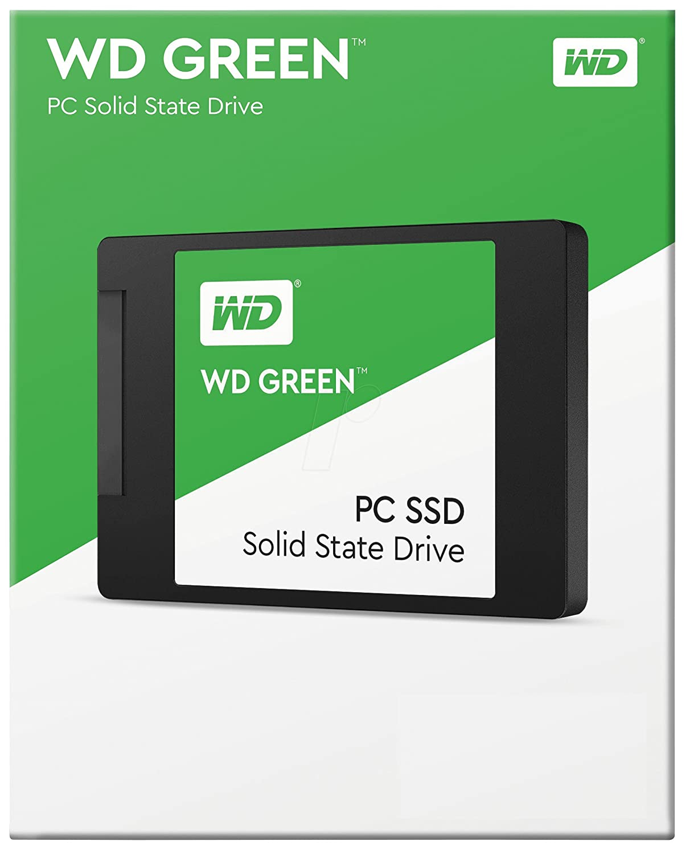 "Amazon.com: Western Digital Green 2.5"" 120GB SATA3 SSD WDS120G1G0A:  Computers & Accessories"