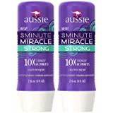 Aussie 3 Minute Miracle Strong Conditioning Treatment, 8 oz, 2 pack (Tamaño: 16 ounce)