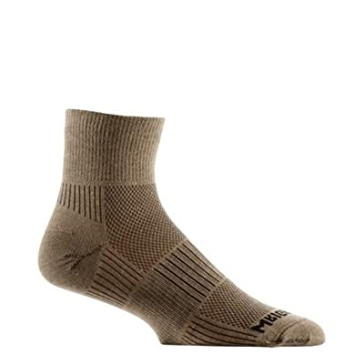 Wrightsock DL Coolmesh II Qtr Sock at Amazon Men's Clothing store