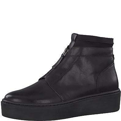 6924c95422b43 Tamaris Damen Plateaustiefeletten 25499-21,Frauen  Stiefel,Boots,Halbstiefel,Plateau-Bootie,hoch,Keilabsatz 4cm