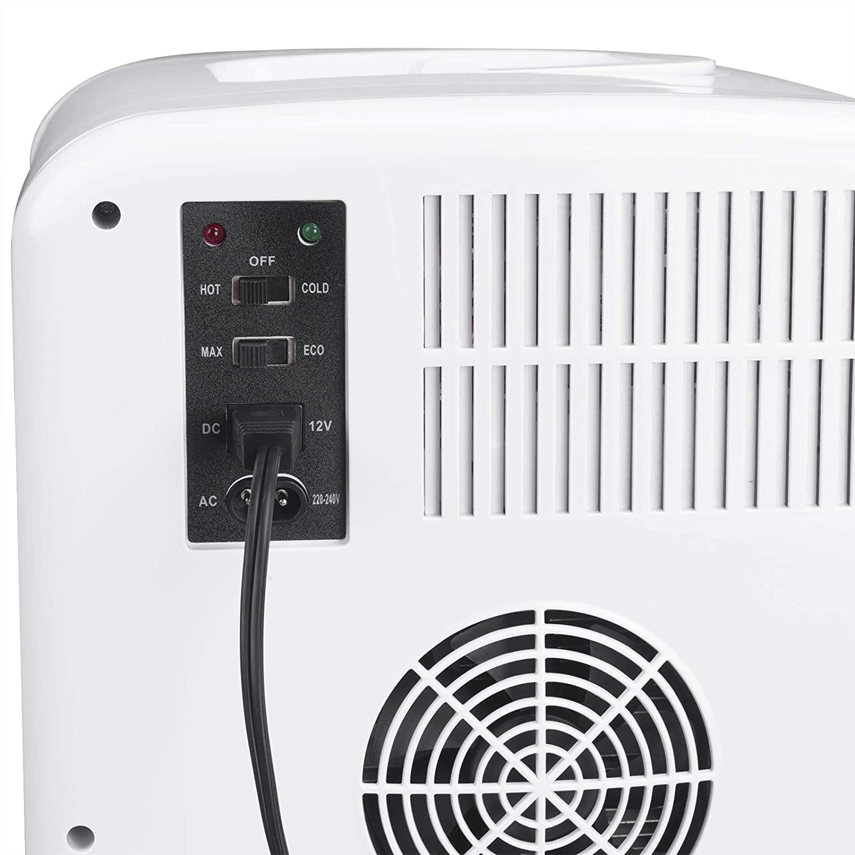 12V/&220V WOLTU KUE005wsz K/ühlbox warmhalten oder k/ühlen Thermo-Elektrische Mini-K/ühlschrank f/ür Auto und Camping 15L Isolierbox Erw/ärmen