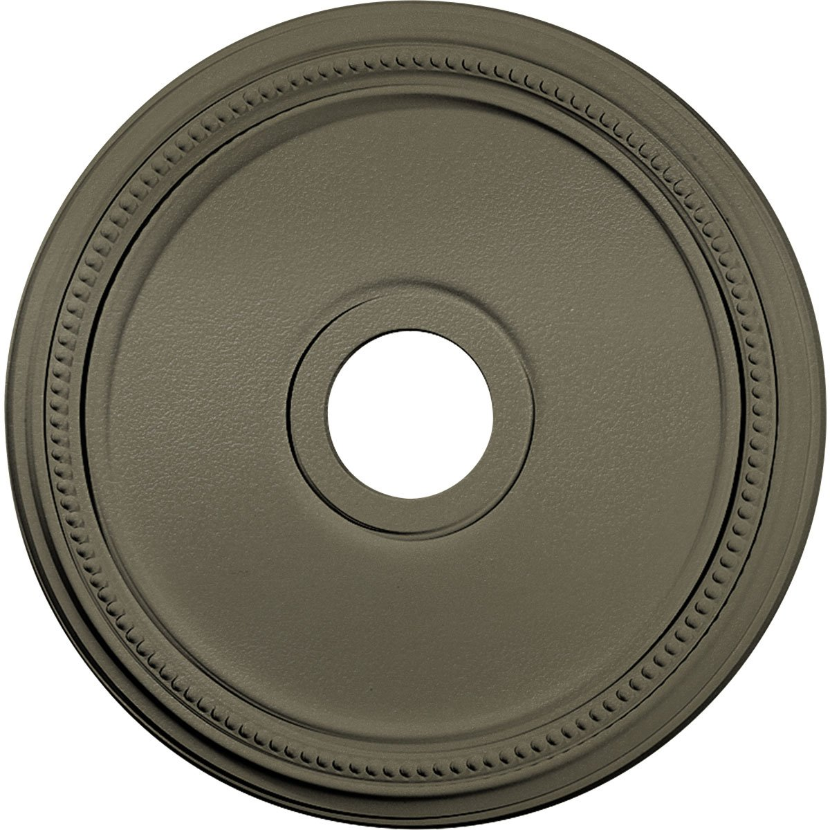 Ekena Millwork CM18DISSF Diane Ceiling Medallion fits Canopies up to 5 3/8'', Spartan Stone