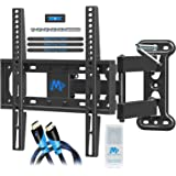 Mounting Dream Full Motion TV Mount for 26-55 Inches TVs, TV Bracket Kit Includes Socket Wrench & HDMI Cables, TV Wall…
