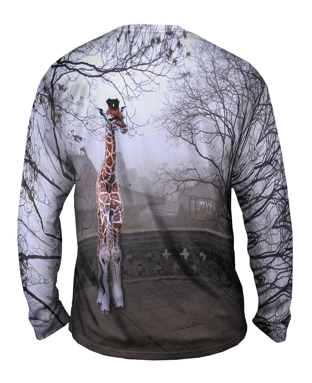 TShirt Giraffe China Yizzam Mens Long Sleeve