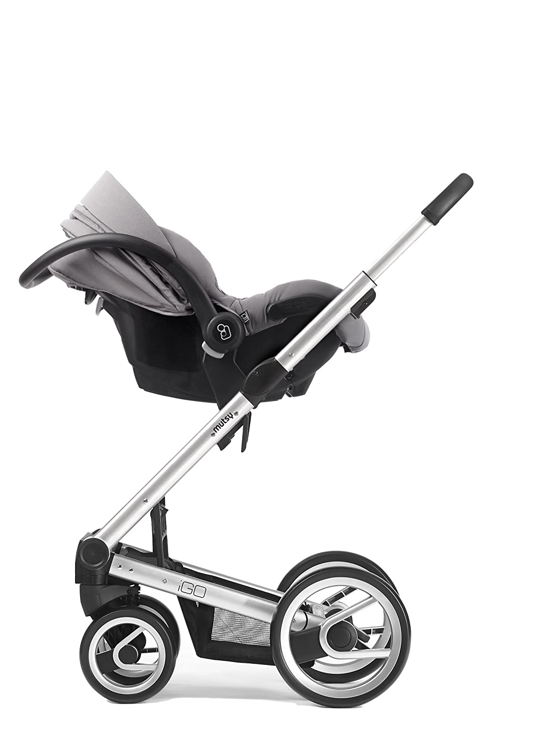 Mutsy Igo Stroller Car Seat Adapter for Maxi-Cosi, Black by Mutsy: Amazon.es: Bebé