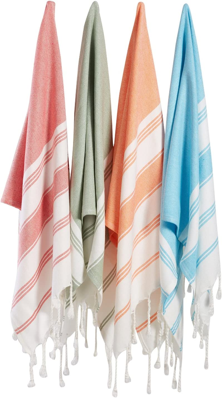 Bosphorus Turkish Cotton Multicolor Towels