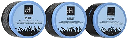 D fi D struct Pliable Molding Creme 5.3 Oz Jar Set of 3