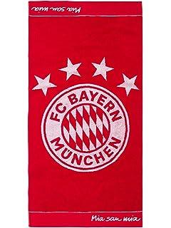 FC Bayern M/ünchen Handtuch anthrazit