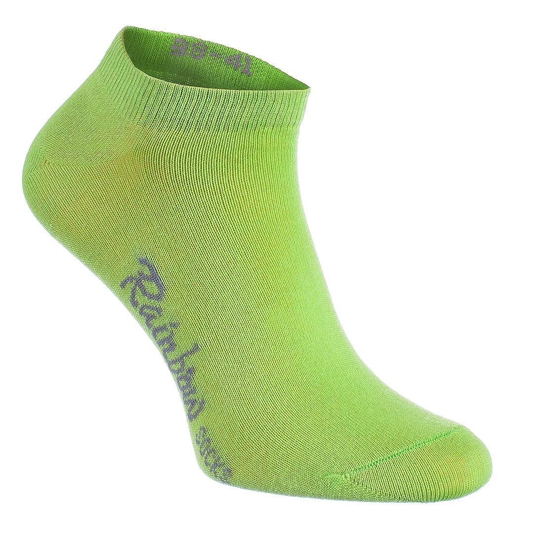 46 by 41 43 38 39 TEX 40 45 42 44 massima qualita del cottone con certificato OEKO 37 Rainbow Socks 6,9 o 12 paia di calzini corti in 12 colori di moda prodotti in UE tanti numeri 36