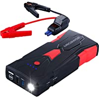 $62 » MEGAWISE 1500A Peak 16800mAh Car Jump Starter (Up to 7L Gas or 5L Diesel Engine), 12V…