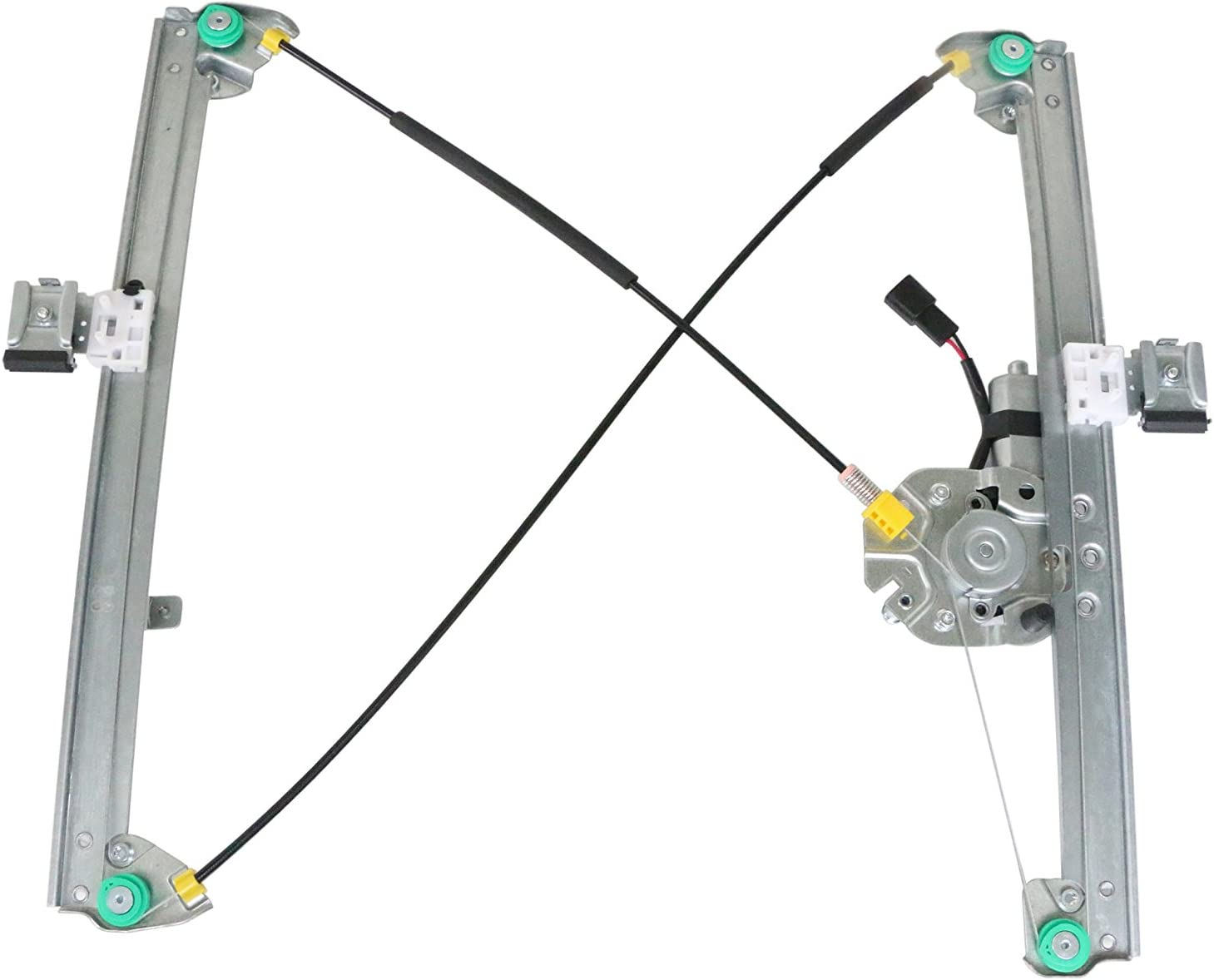 TrakMotive 21-0205 Window Regulator with Motor Front Left