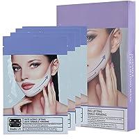 V-gezichtsvormend masker, 4 stuks 35 g V-lijn kin-up hydraterend verstevigend gezichtsmasker voor verbetering van de…