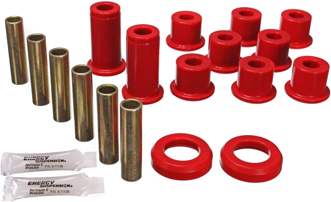 Energy Suspension 3.2129R 2/&4WD REAR SPRING BUSHINGS