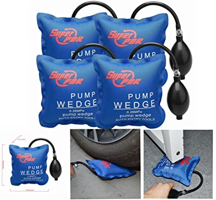 4 Pcs Air Wedge Pump Up Super PDR Bomba de Aire Professional Locksmit Aire Bomba de