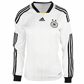 f6a6a4598 Adidas Germany womens long sleeve dfb home football shirt size large 16-18