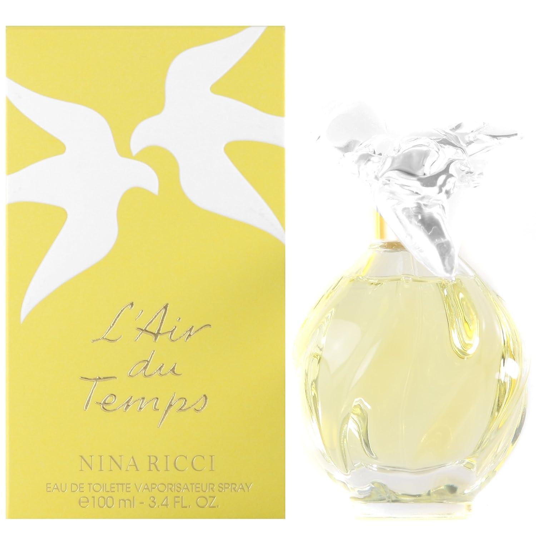 L'air Du Temps Perfume by Nina Ricci for Women. Eau De Toilette Spray 3.3 Oz / 100 Ml Refillable. 213876