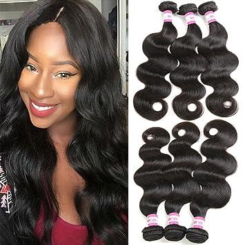 Amazon bp brazilian hair 3 bundles body wave human hair bp brazilian hair 3 bundles body wave human hair weave unprocessed 7a virgin brazilian hair extensions pmusecretfo Images