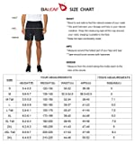 Baleaf Men's 5 Inches Running Athletic Shorts