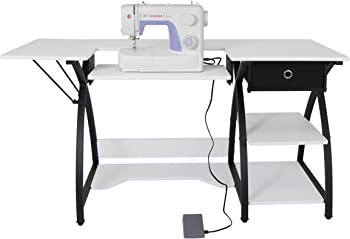 Singer 3232 Simple Sewing Machine + Comet Sewing Desk