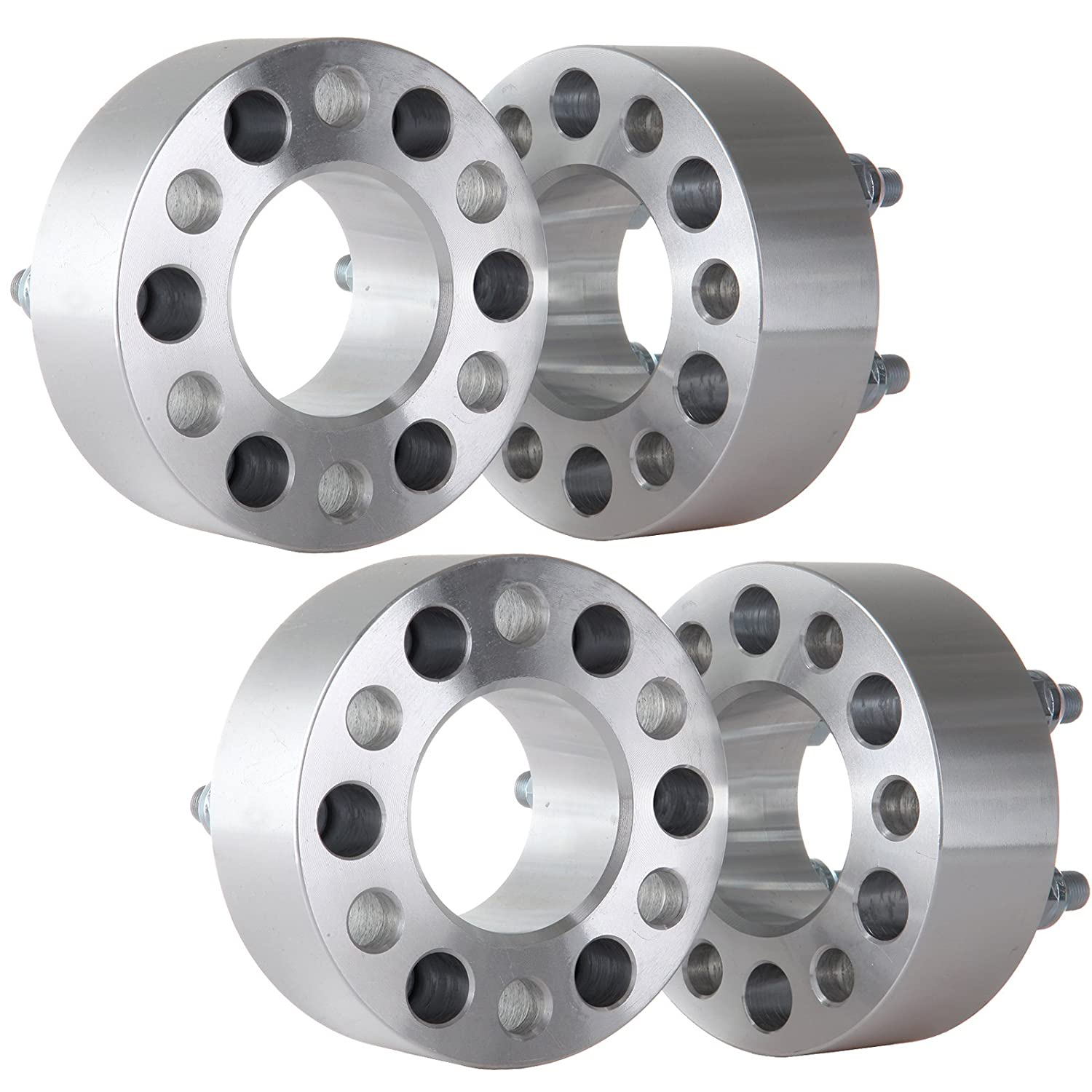 4X ECCPP 6x4.5 Wheel Spacer Adapters 6 Lug 2 inch 6x4.5 to 6x4.5 Compatible with Durango Viper