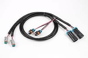 Starkey Products Fog Light Wiring H10 to Deutsch/H10 Dual Adapter - Set