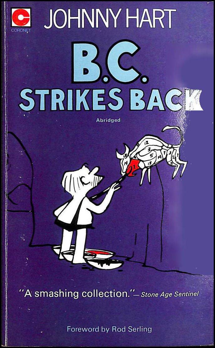 B C Strikes Back Coronet Books Johnny Hart 9780340156797