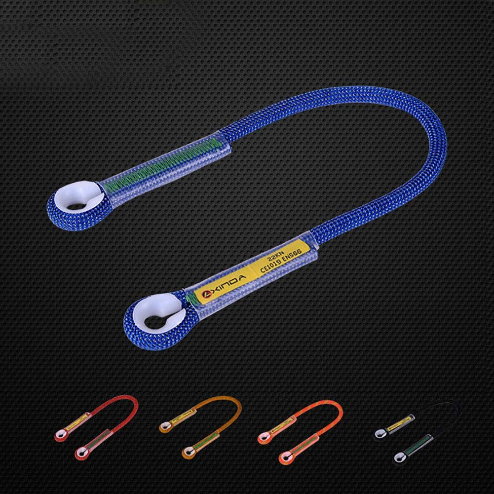 100cm 12mm Mountaineering Rock Climbing FALL PROTECTION Sling Rope Equipment