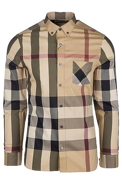 burberry camicia uomo