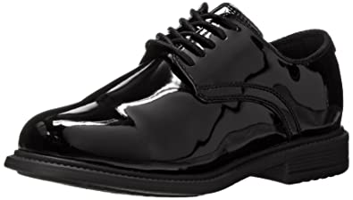 NEW! ORIGINAL S.W.A.T. Men's Black Patent Dress Oxford Sz 5 U.S.