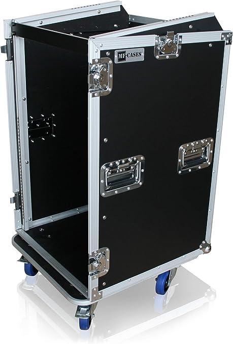 Rack para mesa de mezclas de 18HE + 10HE (estante superior de 19
