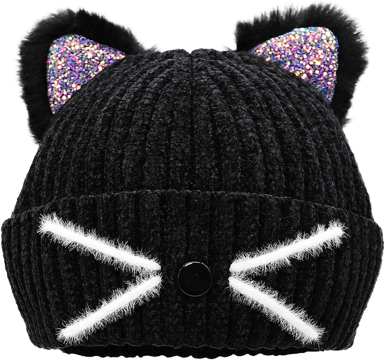 Knit Kitty Cat Hat Cat Hat Pussycat Hat