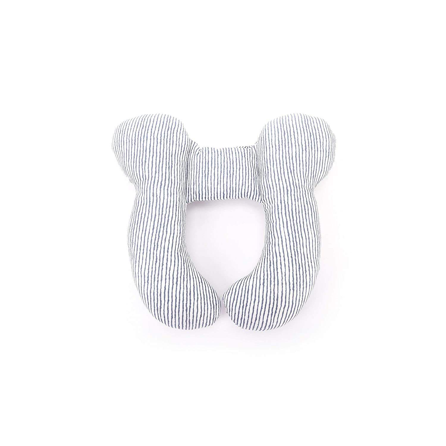 Neck /& Shoulder Support Baby Travel Pillow for Car Seat and Stroller Yellow//Grey Perry Mackin Certified Organic Cotton Infant Head