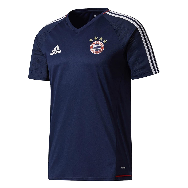 2017-2018 Bayern Munich Adidas Training Shirt (Navy) B072LP6T18 Medium 38-40