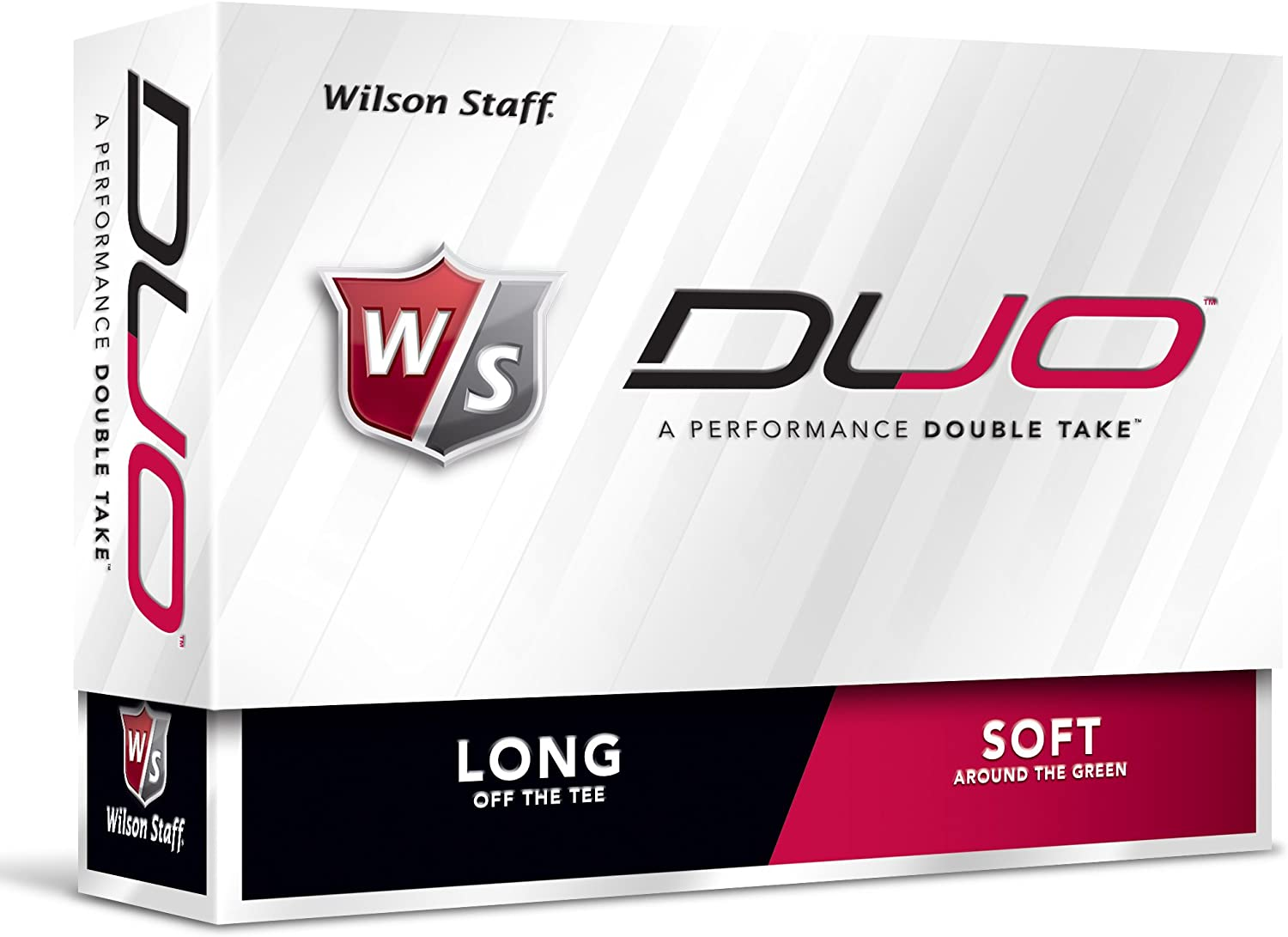 Wilson Staff Duo Golf Balls 12pk White