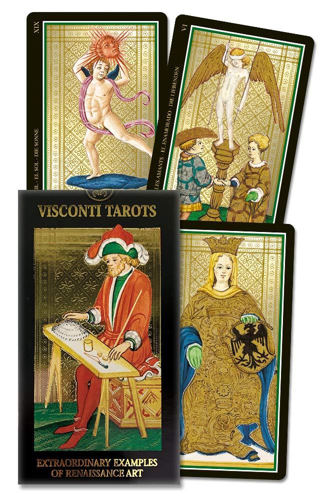 Visconti Tarots deck: Lo Scarabeo: 9780738700199: Amazon com
