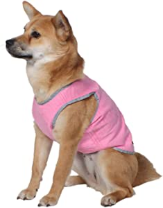 American Kennel Club AKC Cooling Vest for Dogs, Large, Pink