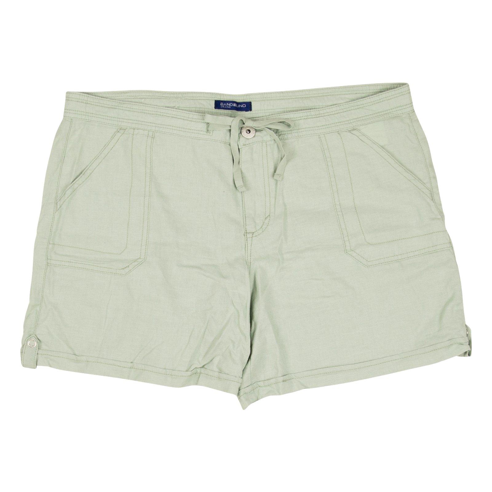 Bandolino Womens Iris Soft Shorts 14 Sedona Sage