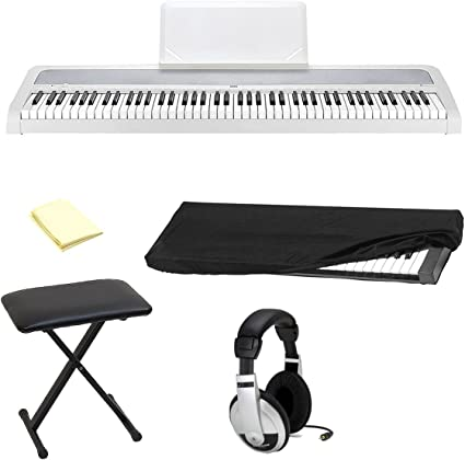 Korg b1wh 88-Key Piano Digital con mejorado sistema de ...
