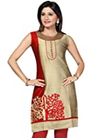ALC Creations Women's Silk A-Line Kurti