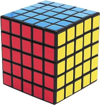 EASEHOME 5x5x5 Speed Magic Puzzle Cube, Rompecabezas Cubo Mágico ...