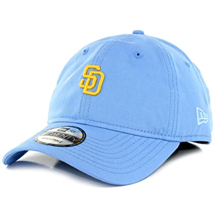727d060c Amazon.com : New Era 920 San Diego Padres Micro Logo Dad Cap (Baby ...