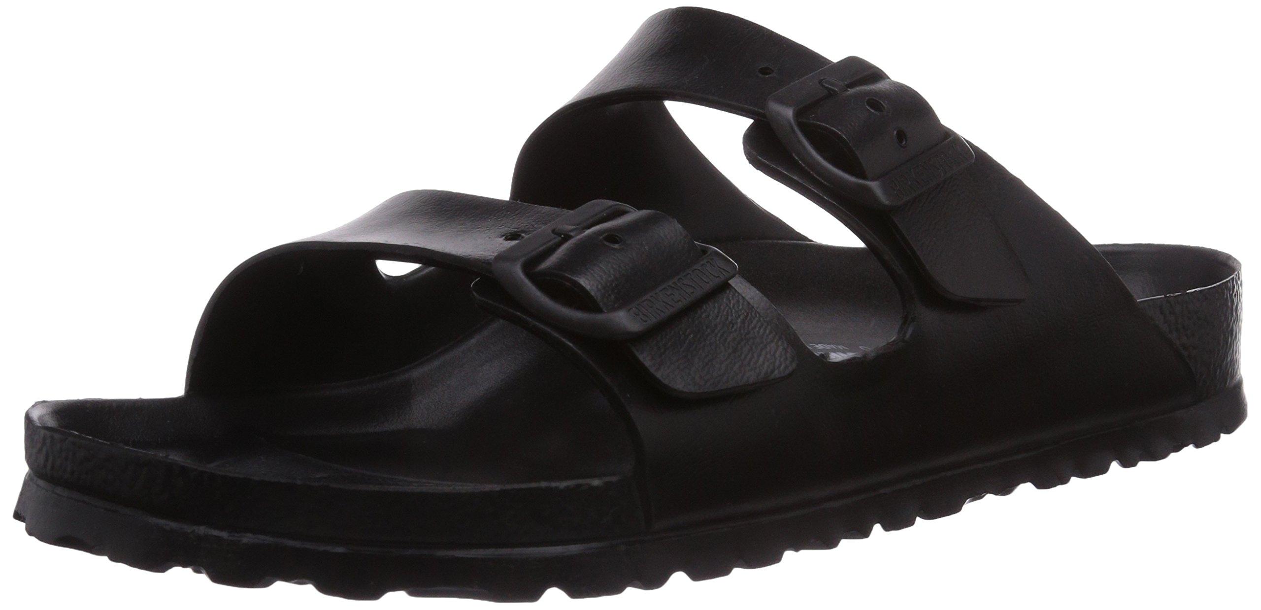 Birkenstock Unisex Arizona Essentials EVA Black Sandals - 41 M EU